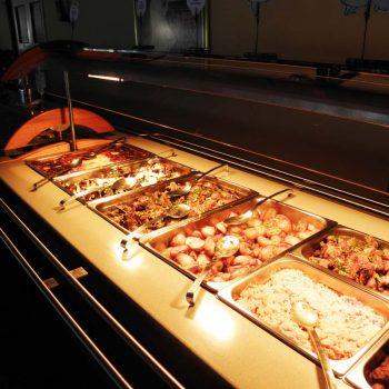 Photo du buffet de l'hôtel Park Beach à Chypre